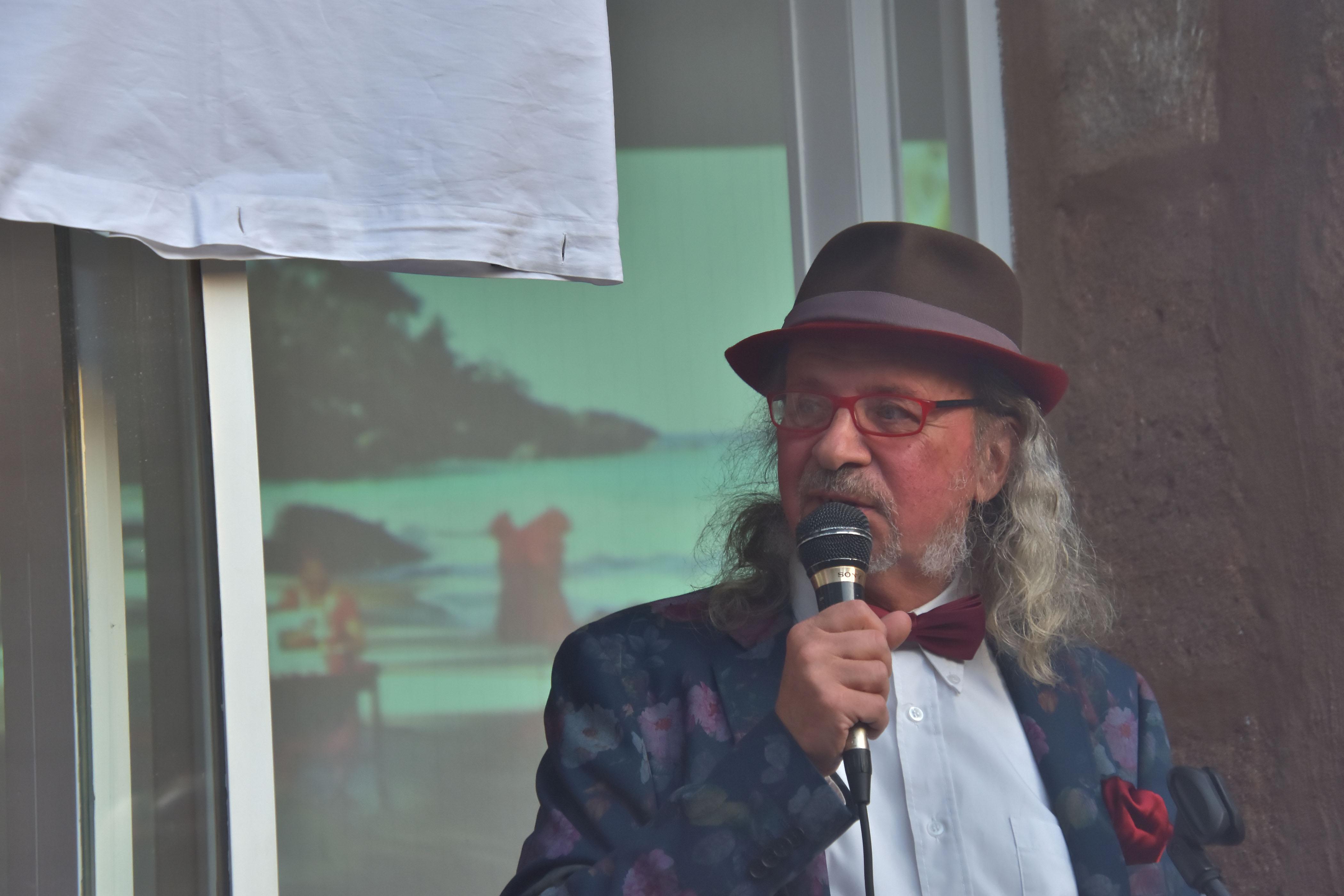 Heijo Schlein (Koordinator / Galerist ROTE GALERIE)